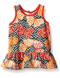 Baby Girls' Zig Zag Butterflies Knit Dress