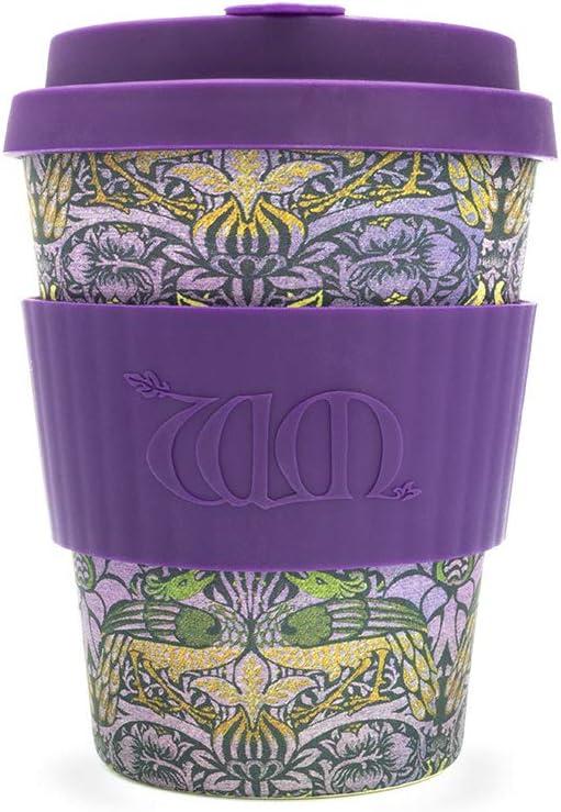Respectueux de lenvironnement Plusieurs couleurs disponibles Mug /à caf/é Ecoffee de 340 ml William Morris Tasse r/éutilisable fabriqu/ée en fibres de bambou naturelles