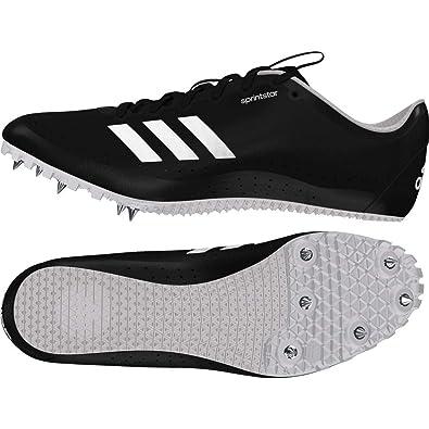 7c5b8a49a0 adidas Sprintstar, Chaussures d'Athlétisme Femme, Noir Cblack/Orange/Ftwwht,
