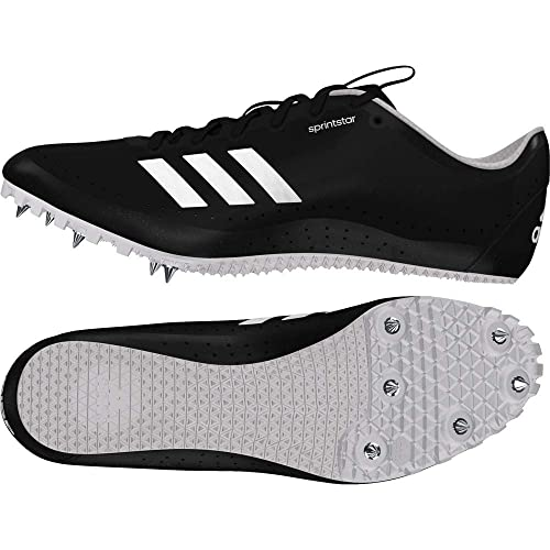 brand new d1b64 d2486 adidas Womens Sprintstar Track  Field Shoes Black Amazon.co.uk Shoes   Bags
