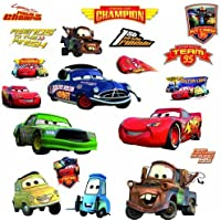 Roommates Rmk1520Scs Disney Pixar Cars Piston Cup Champs...