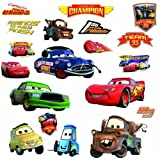 Amazon Price History for:Roommates Rmk1520Scs Disney Pixar Cars Piston Cup Champs Peel & Stick Wall Decal