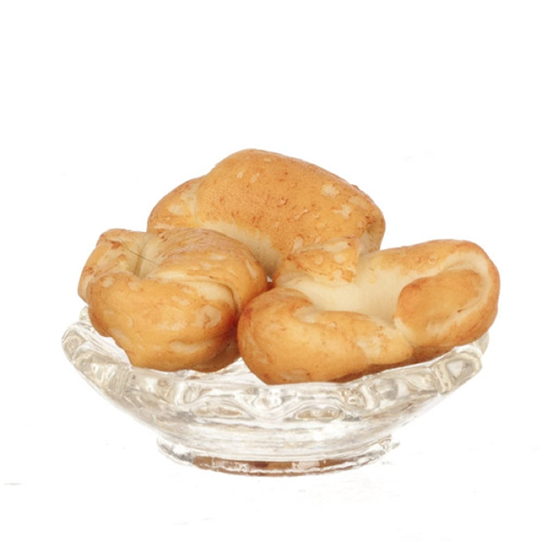 Dollhouse Miniature 1:12 Scale Crispy Croissants #G7201 AZTEC IMPORTS