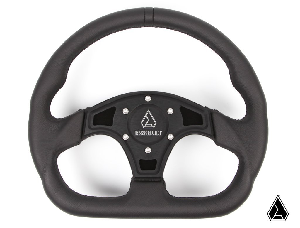Assault Industries Ballistic D Steering Wheel (Wheel Only) 100005SW0202
