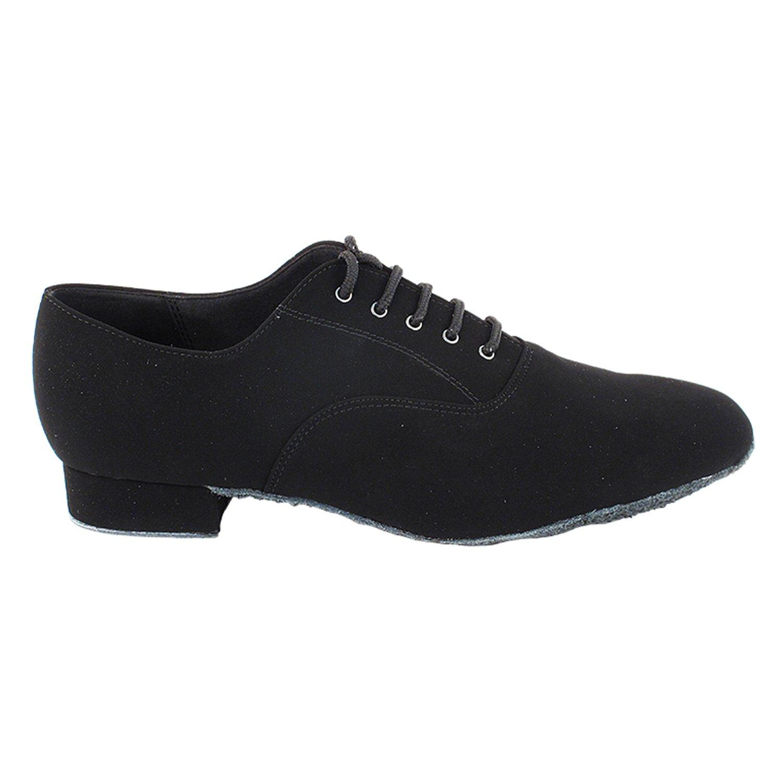 50 Shades Mens 1 Low Heel Dance Dress Shoes Ballroom Salsa Swing Practice Casual VF Men Heel