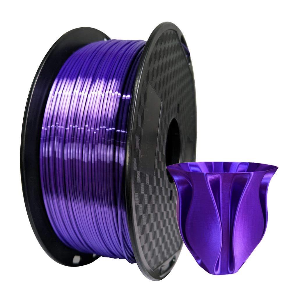 Filamento de impresora 3D Silk PLA de 1,75 mm, 1 kg, bobina de 2,2 ...