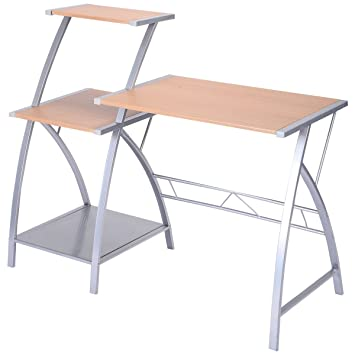 Amazoncom  Computer Laptop Writing Study Desk Table Home Office