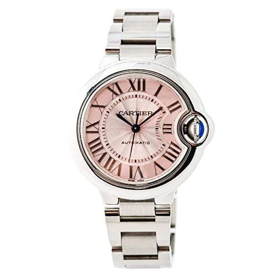 Cartier Ballon Bleu Automatic-Self-Wind Womens Watch w6920100 (Certificado) de Segunda Mano: Cartier: Amazon.es: Relojes