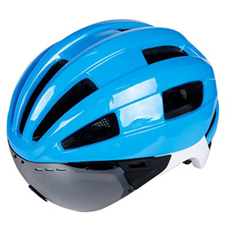 DRAGSP Bicicleta con Casco De Gafas Protectoras, Casco De ...