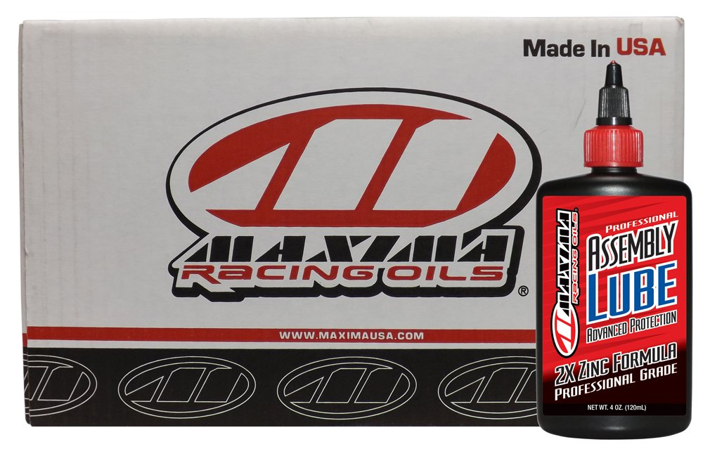 Maxima Racing Oils CS69-01904-12PK-12PK Professional Assembly Lube - 48 oz., (Pack of 12) by Maxima