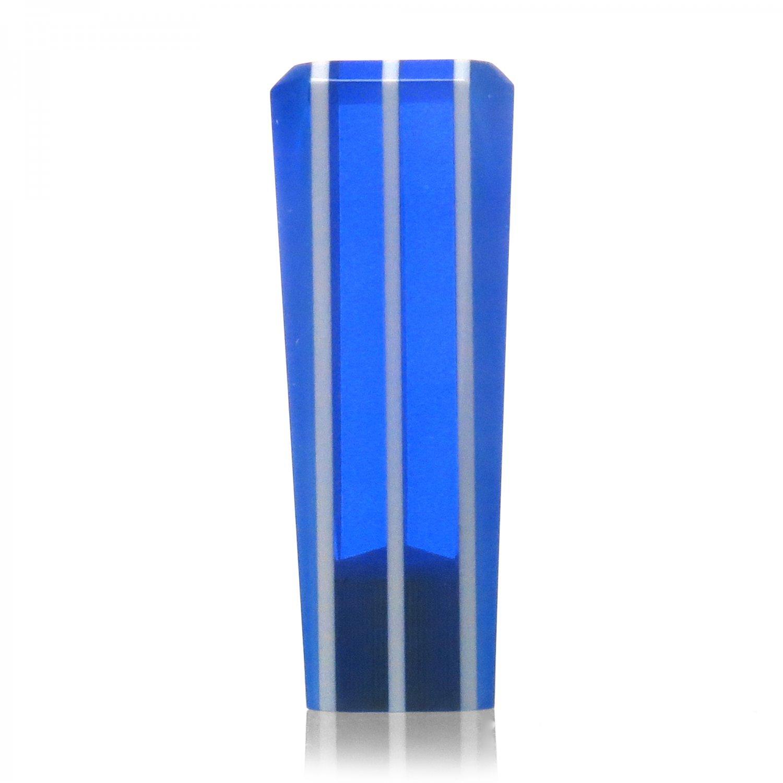 American Shifter 141920 Blue Stripe Stix Shift Knob with 1//2-20 Insert