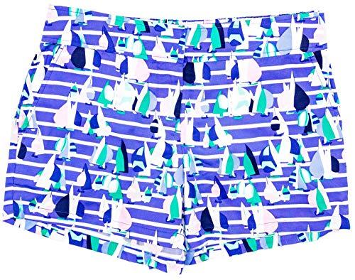 Vineyard Vines Women's Harbor Scene Print Foley Shorts Size ()