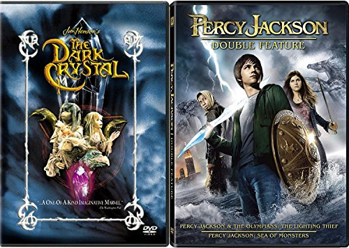 Percy Jackson & The Olympians: The Lightning Thief & Sea of Monsters + The Dark Crystal Fantasy Triple Movie Feature ()