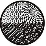 Nail Art Template, Ikevan Christmas DIY Hot Pattern Nail Art Image Stamp Stamping Plates Manicure Template Nail Art Plate (03)