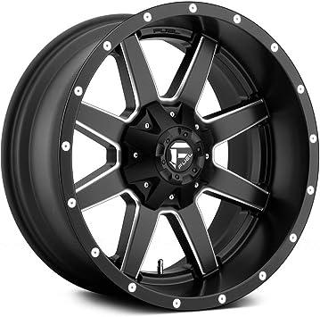 -44 mm FUEL 1PC MAVERICK MATTE BLACK MILLED MAVERICK 20x12 8x170.00 MATTE BLACK MILLED AUTOMOTIVE WHEEL