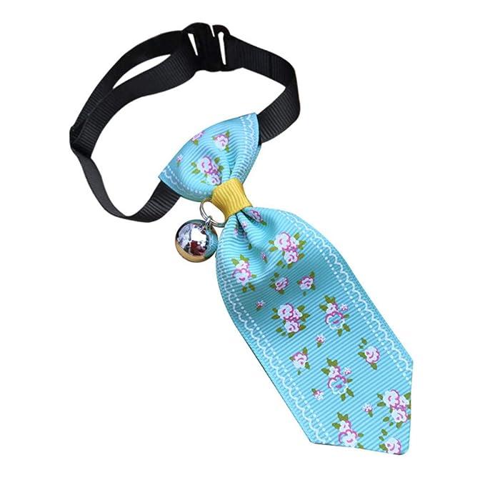 Hawkimin - Corbata para Perros, Gatos, Animales, diseño de Flores ...