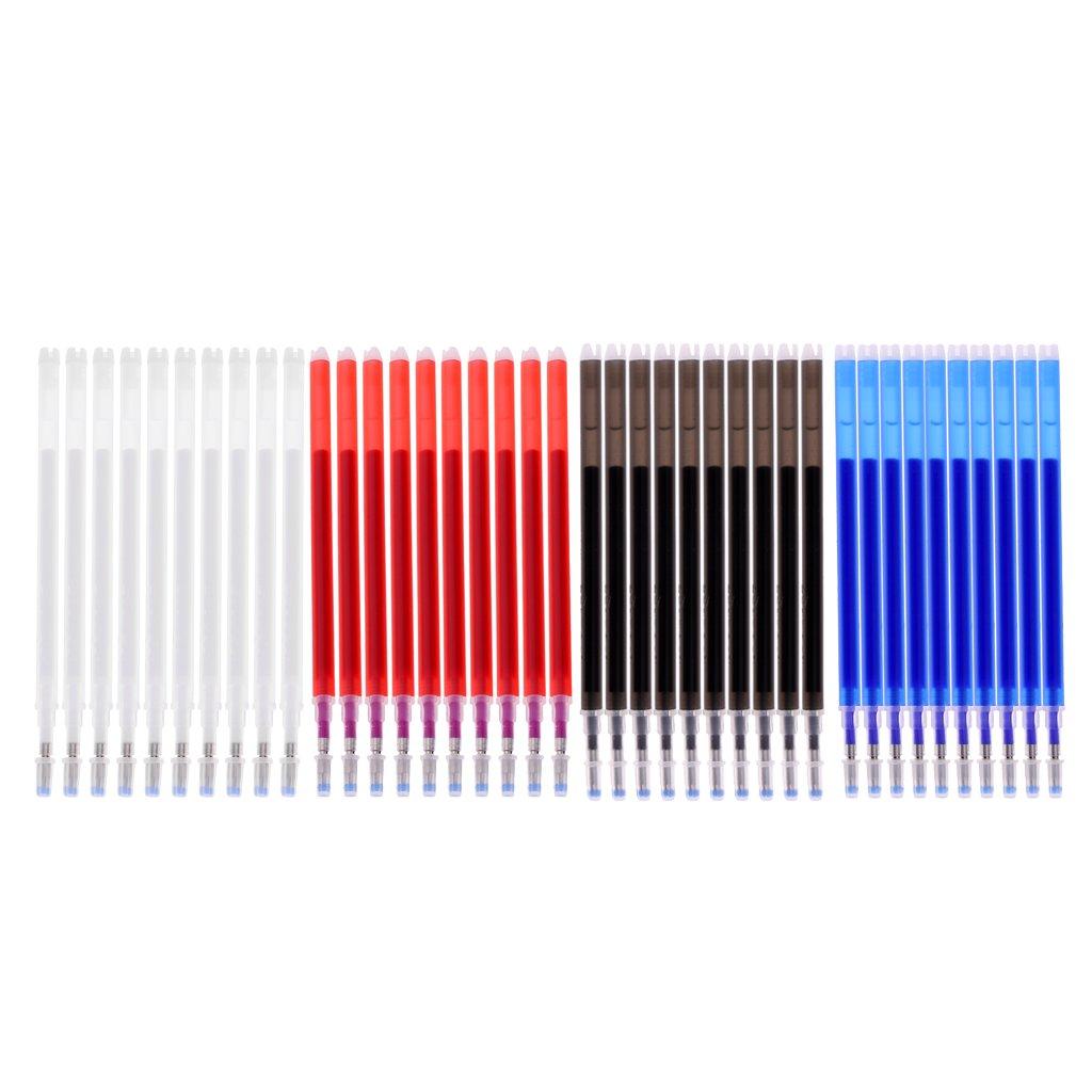 Sharplace 4 Colori Penna Refil Strumenti Scritto Adatto in Ufficio Scuola Cancelleria