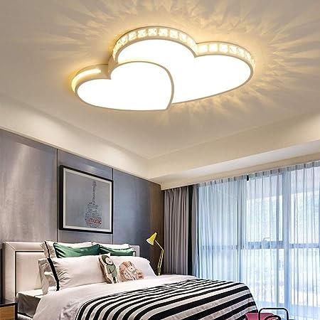 Deckenleuchte LED 24W Kreative Mond Sterne Deckenlampe Kinderzimmer  Deckenleuchte Jungen Und Mädchen Schlafzimmer Lampe Einfache Cartoon  Romantische ...