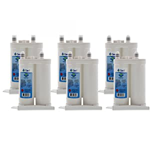 Tier1 Replacement for Frigidaire WF2CB PureSource2, NGFC 2000, 1004-42-FA, 469911, 469916, FC 100 Refrigerator Water Filter 6 Pack