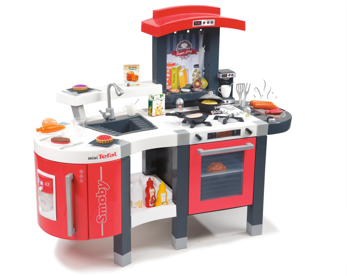 Genial Amazon.com: Smoby Super Chef Deluxe Roleplay Kitchen With 47 Accessories  And Impressive Details, 37 Inch, Red: Toys U0026 Games