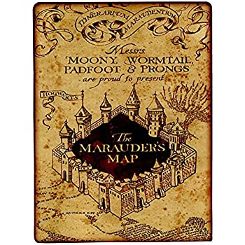 northwest company harry potter marauder 39 s map. Black Bedroom Furniture Sets. Home Design Ideas