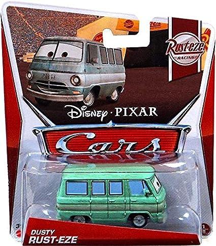 Disney / Pixar CARS Movie 1:55 Die Cast Car Dusty Rust-Eze [Rust-eze Racing  1/8]