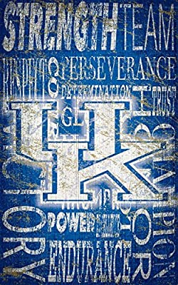 Fan Creations University of Kentucky Heritage Word Collage 11 x 19, Multi