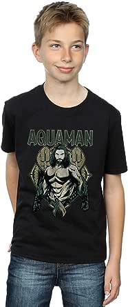 DC Comics Niños Aquaman Scales Camiseta