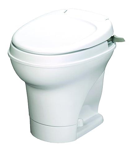 Amazon.com: Aqua-Magic V RV Toilet Hand Flush / High Profile / White ...