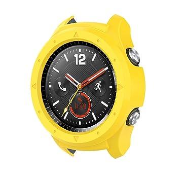 MuSheng Funda para Huawei Watch 2, Carcasa rígida Ultrafina ...