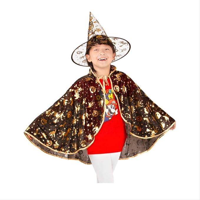 LBHHH Capa Infantil de Halloween, Disfraz de Rendimiento ...