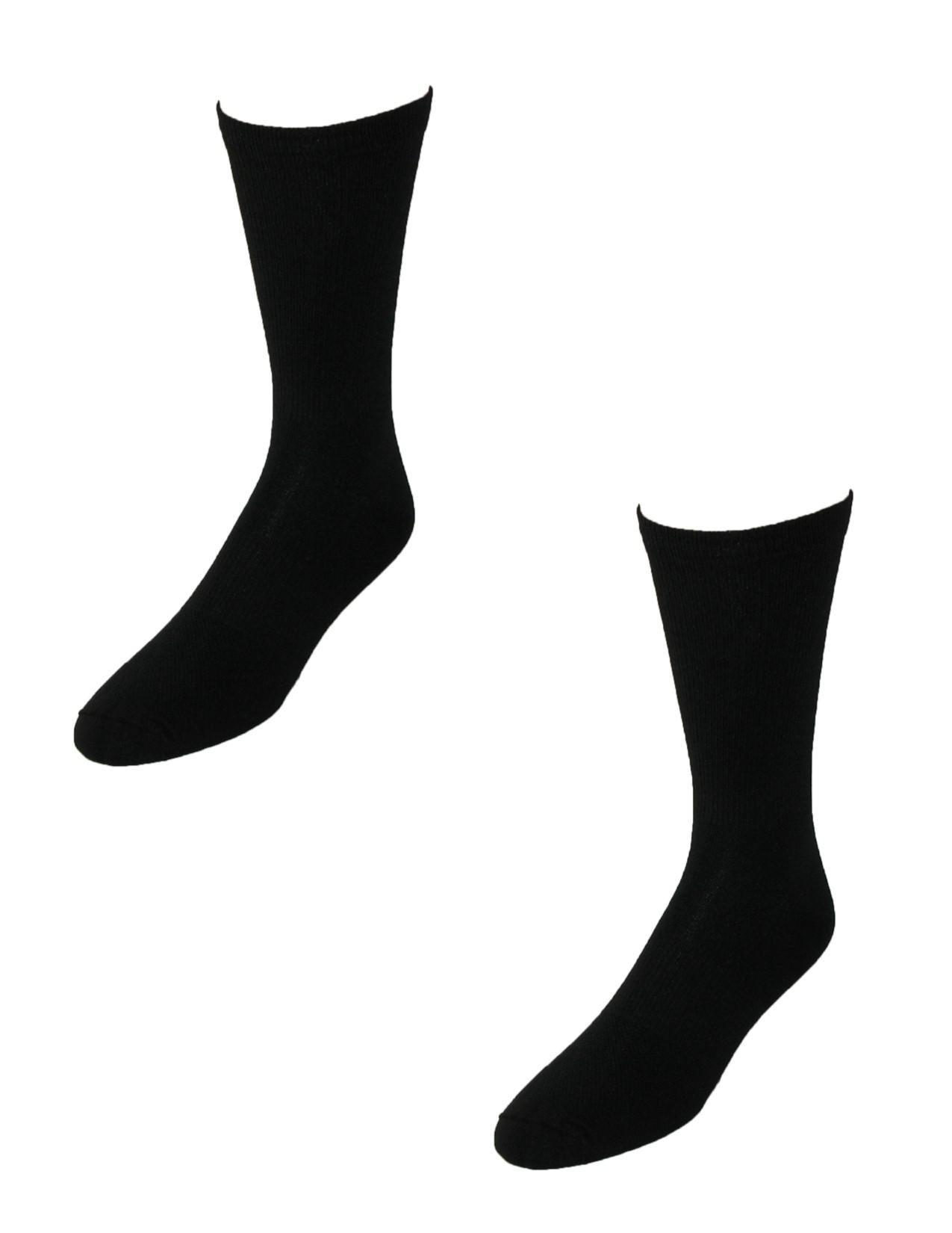 Tilley TA800 Dries Overnight Travel Socks (Pack of 2), Medium, Black