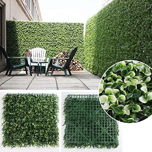 SUNWING 20''x20'' Artificial Long Boxwoo - Boxwood Hedge Shopping Results
