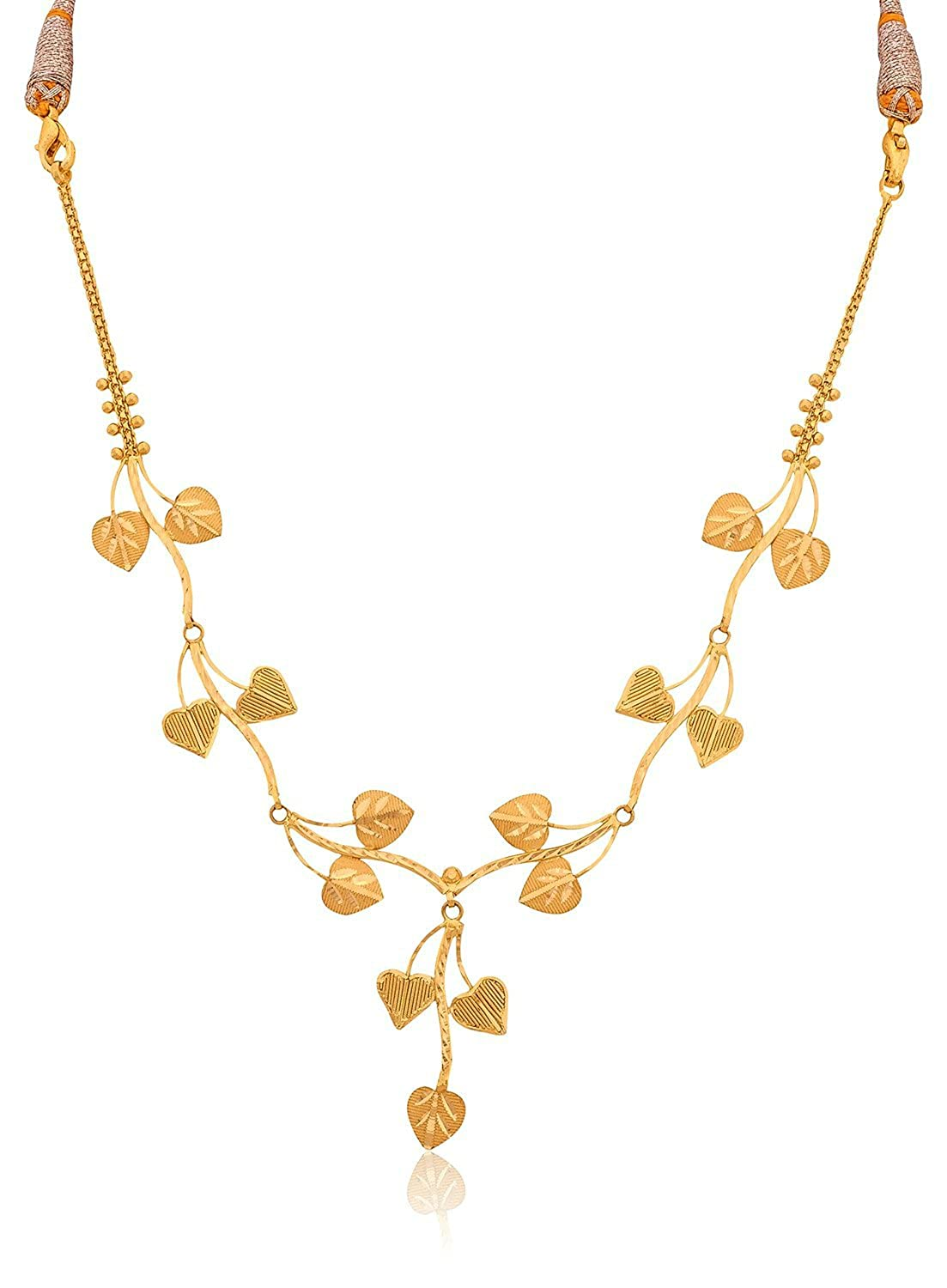 hover zoom yellow necklace gold by to chains in view namaskar set weight necklaces jewellers light