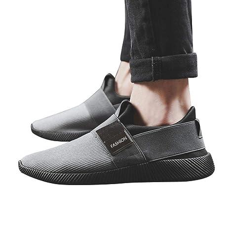Hombre Zapatos,Sonnena zapatos Cómodo Casual Zapatillas Minimalista Mocasines Bajos Zapatos para Conducir, Ciclismo