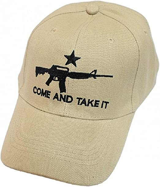 Come And Take It Rifle OD Color Weapon AR-15 2nd Amendment Star Gun Cap Hat US