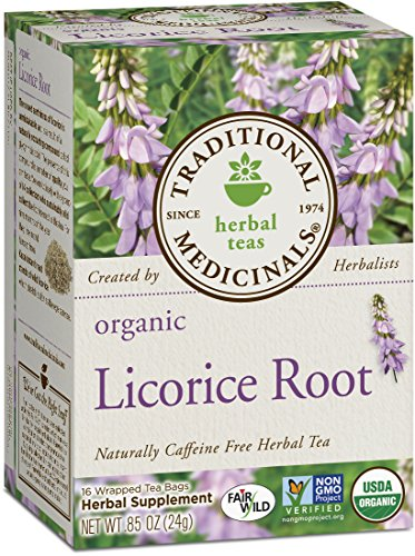 Traditional Medicinals Organic Licorice Root Tea, 16 Tea Bags (Pack of 2) ()