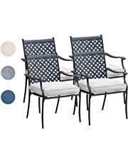 Peachy Patio Dining Chairs Amazon Com Gmtry Best Dining Table And Chair Ideas Images Gmtryco