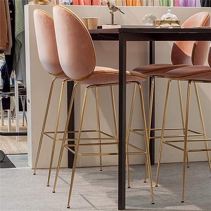 Amazon.com: Taburete de bar para sala de estar, muebles ...