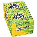 Juicy Fruit Sour Green Apple Gum, 15 piece pack (10 Packs Total)