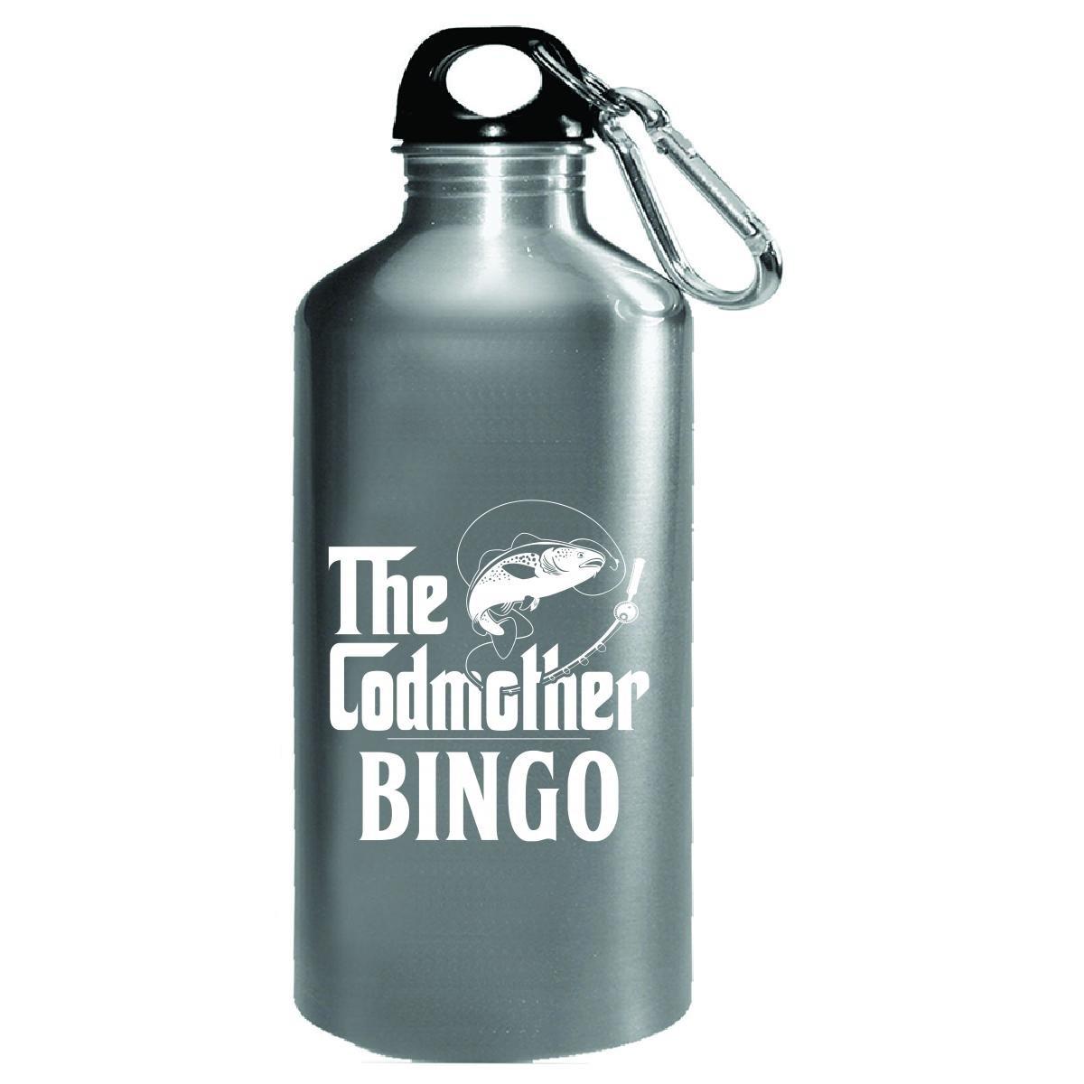The Codmother Bingo Custom Name Fishing Mothers Day - Water Bottle