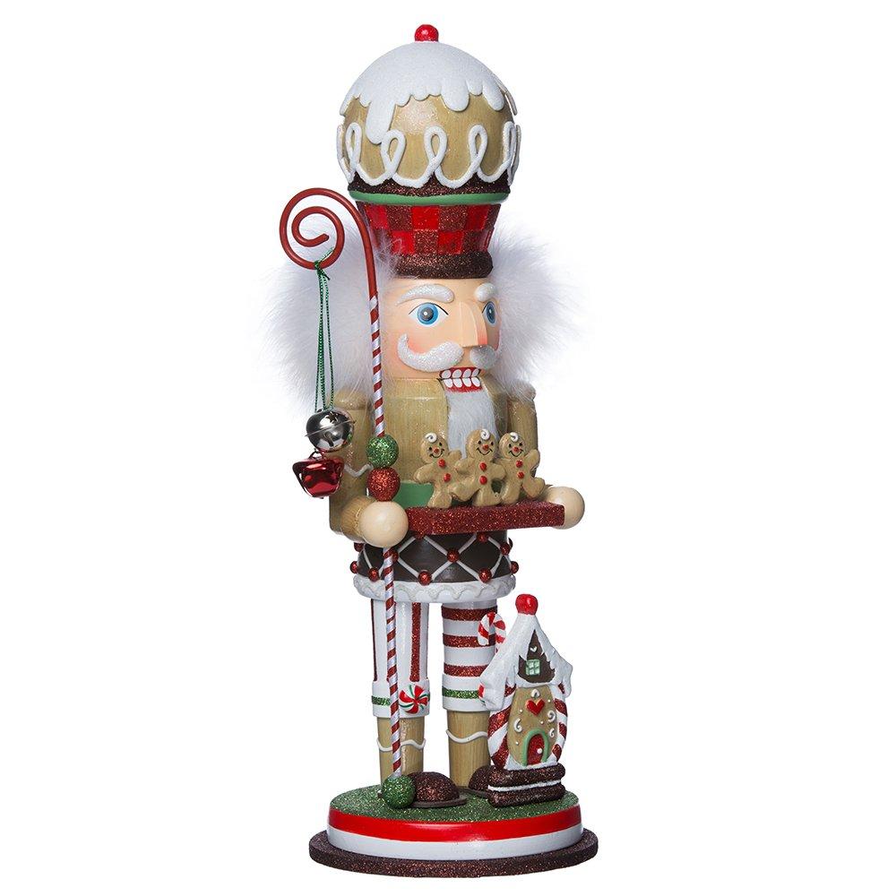Kurt Adler 15.75'' Gingebread Cookie Nutcracker