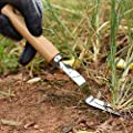 YUBINK Homegrown Garden Tools Premium Hand Weeder - Best Weeding Tool for Lawn & Garden No Need to Use Herbicides Make Sure The Weeds Don't Grow Back