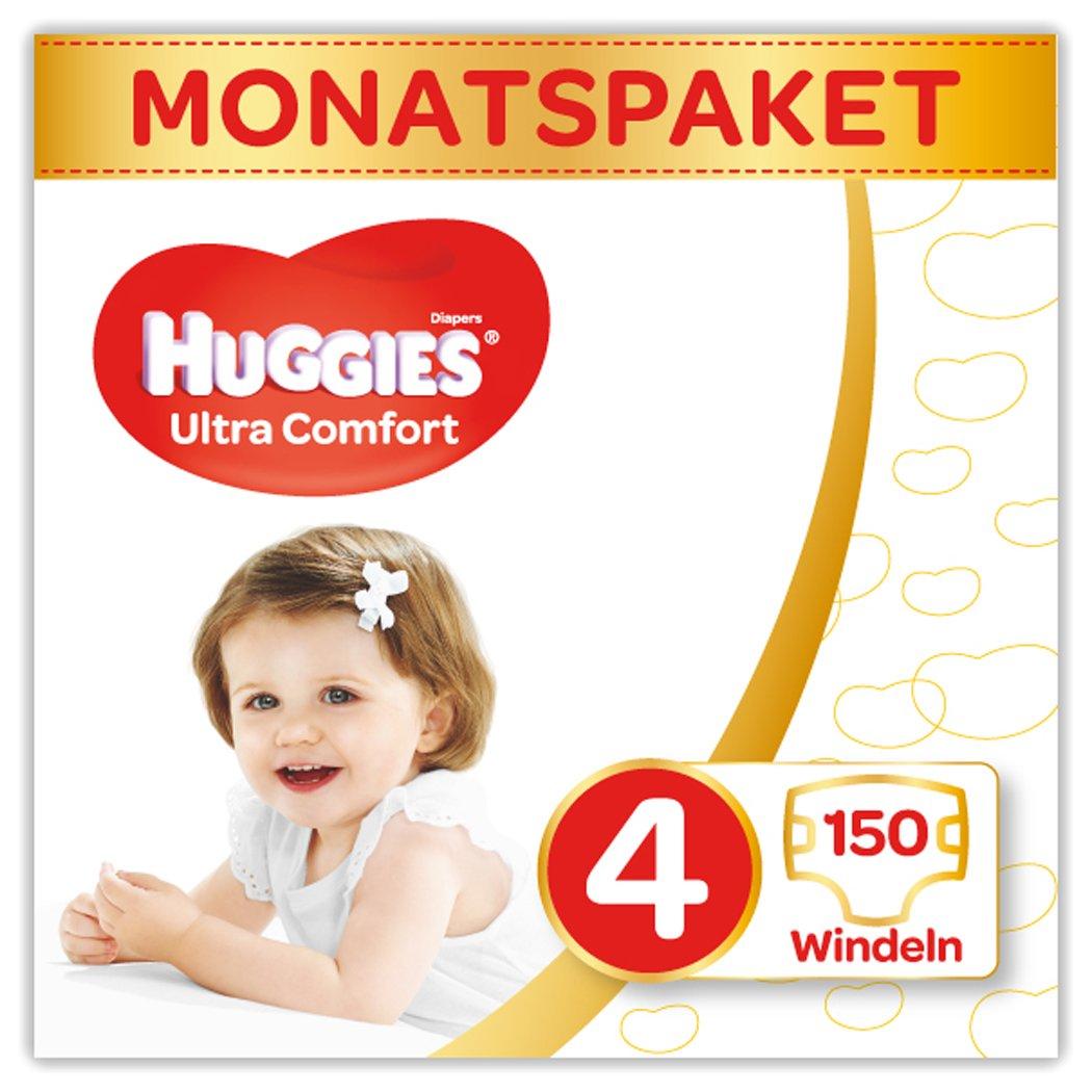 1er Pack 1 x 168 St/ück Huggies Windeln Ultra Comfort Baby Gr/ö/ße 3 Monatsbox