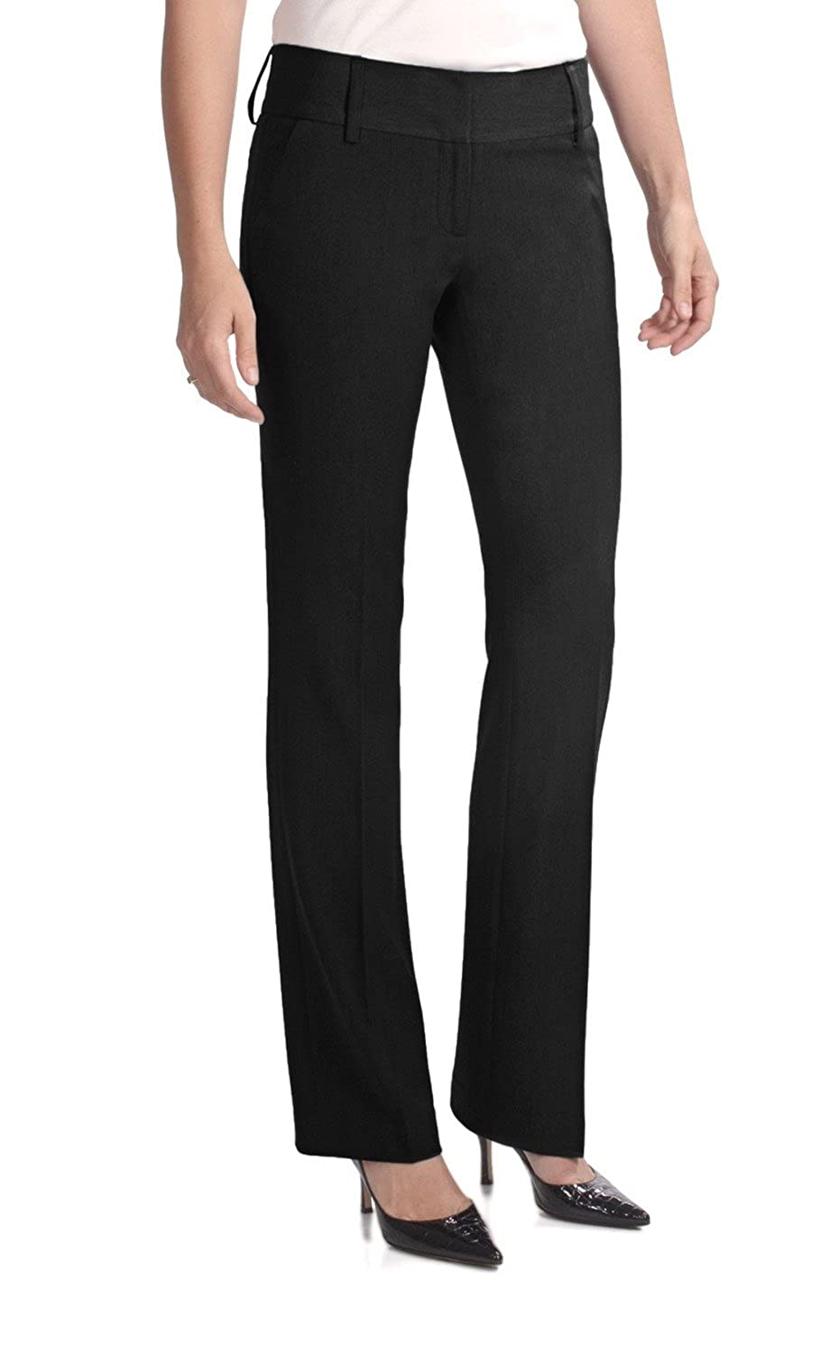 AMANDA + CHELSEA STRAIGHT LEG PETITE DRESS PANT WOMEN'S US SIZE 8P