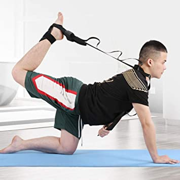 DAUERHAFT Ligament Tiepiece Stretching Belt,Suitable for Yoga and Pilates,for Promoting Muscle Recovery