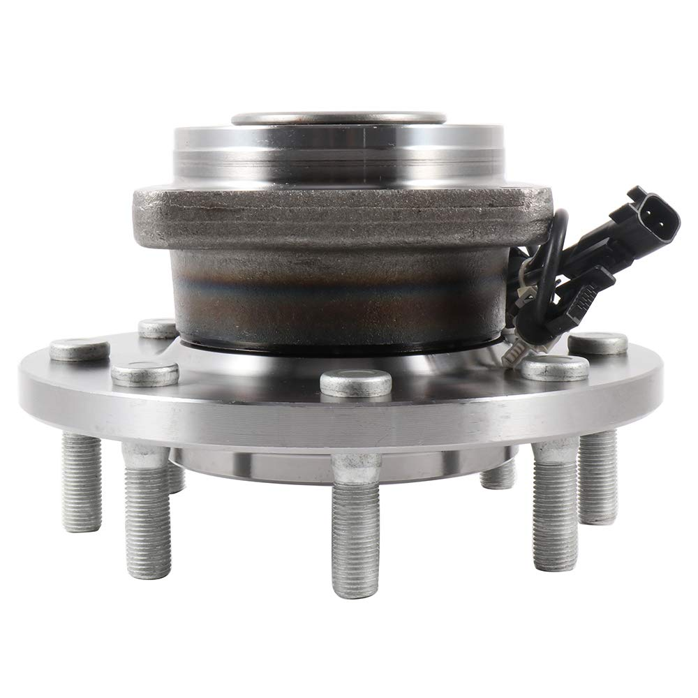 SCITOO Wheel Hub Bearing for Chevrolet Silverado GMC Sierra 2011-2016 Compatible for OE 515144 Front 8 Bolts W//ABS(2 pad)