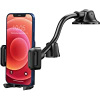 Mpow Car Phone Mount, Dashboard Windshield Car Phone Holder with Long Arm, Strong Sticky Gel Suction Cup, Anti-Shake…