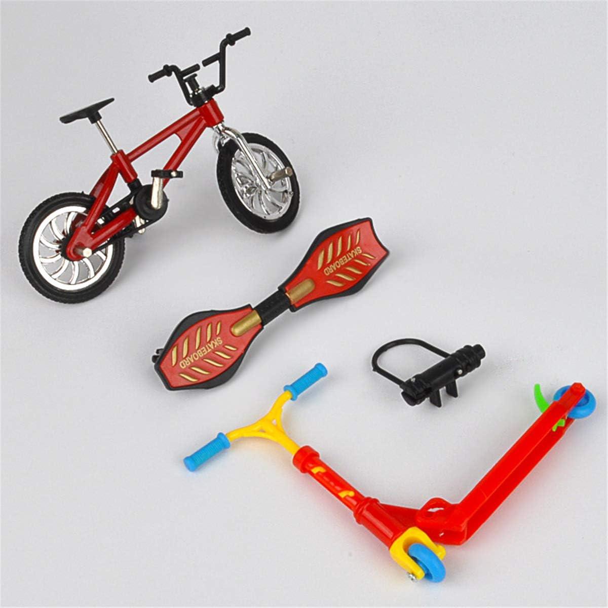cypressen Finger Scooter Spielzeug Mini Finger Spielzeug Set f/ür Kinder Finger Skateboards Fahrr/äder Fingerboards Finger Spielzeug F/ür Kinder Und Geschenk