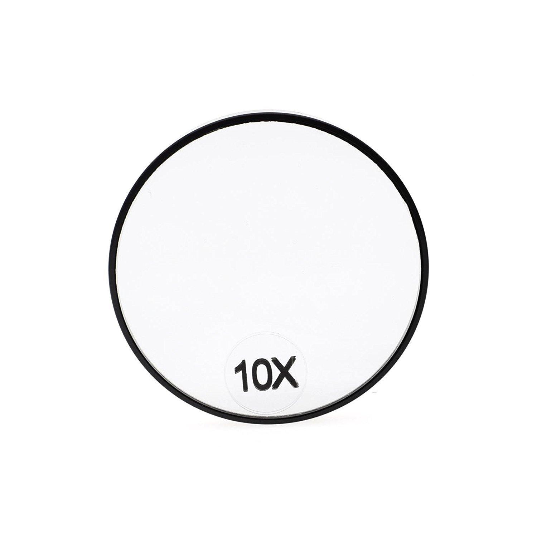Dolovemk Miroir De Maquillage 10 Fois Grossissant 75 Cm Avec 2